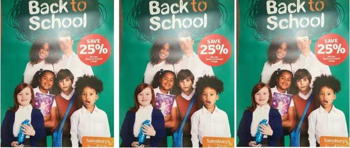 25% Off School Uniform @ Sainsbury's