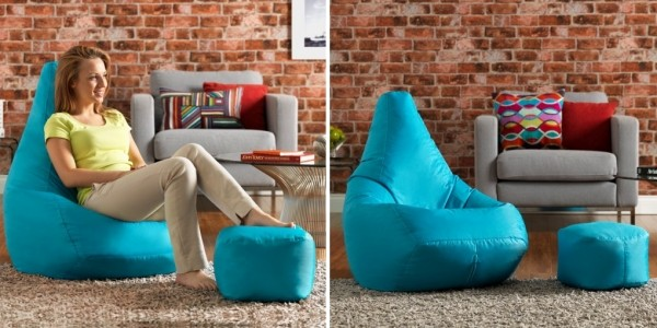 High Back Pod & FREE Footstool £29.99 With FREE Delivery @ Bean Bag Bazaar