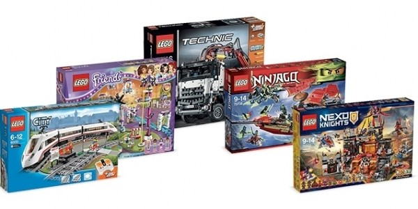 1000 Clubcard Points You Spend £60 On Lego @ Tesco Direct