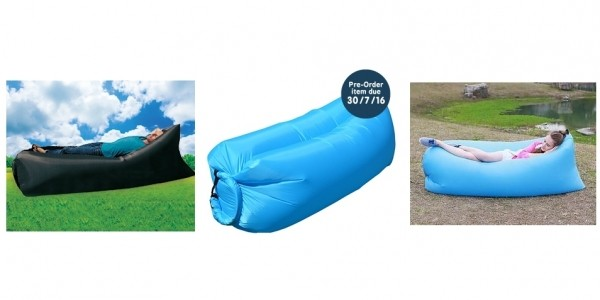 RelaxAir Inflatable Garden Lounger Just £15.99 (RRP £60) @ Home Bargains