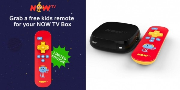 FREE Kids Remote For NOW TV