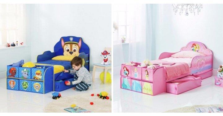 new paw patrol disney princess cube toddler beds argos. Black Bedroom Furniture Sets. Home Design Ideas