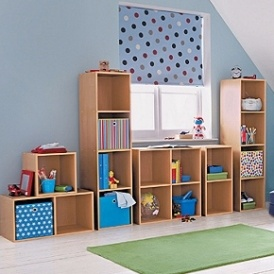 One Cube Storage Unit (Beech Or Pink) £3.99