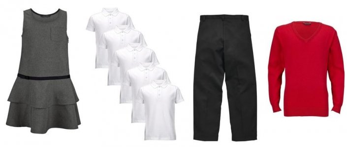 School Uniform Range @ Very