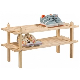 Wooden Shoe Storage Rack £3.99
