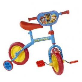 "Paw Patrol 3 in 1 10"" Training Bike"
