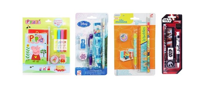 Back To School: Stationery Sets From 99p