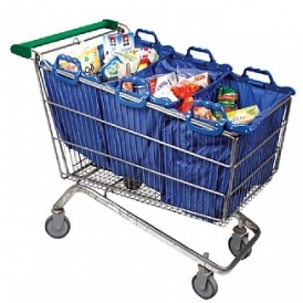 Set of 3 Shopping Trolley Bags £8.49