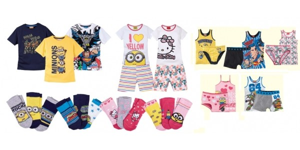 Character Kidswear Now In Store @ Lidl
