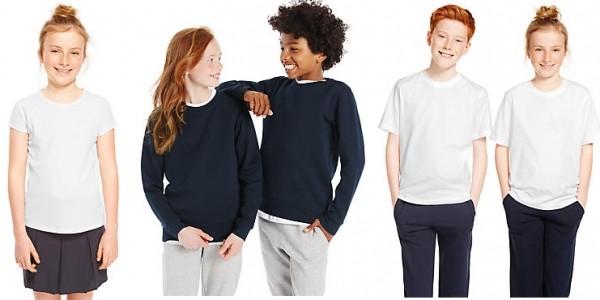 New In: Kids Easy Dressing School Uniform Autism Friendly @ Marks & Spencer