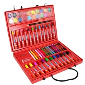 ArtWorkz Complete Art Set - 64 Pieces £3