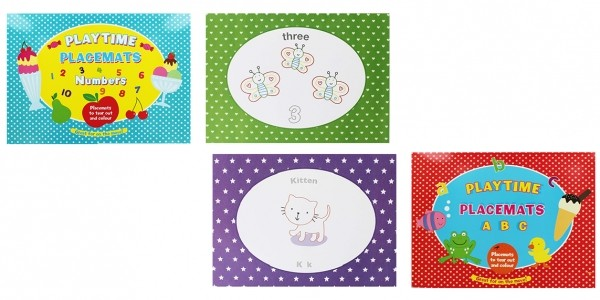 Playtime Placemats £2 @ The Works