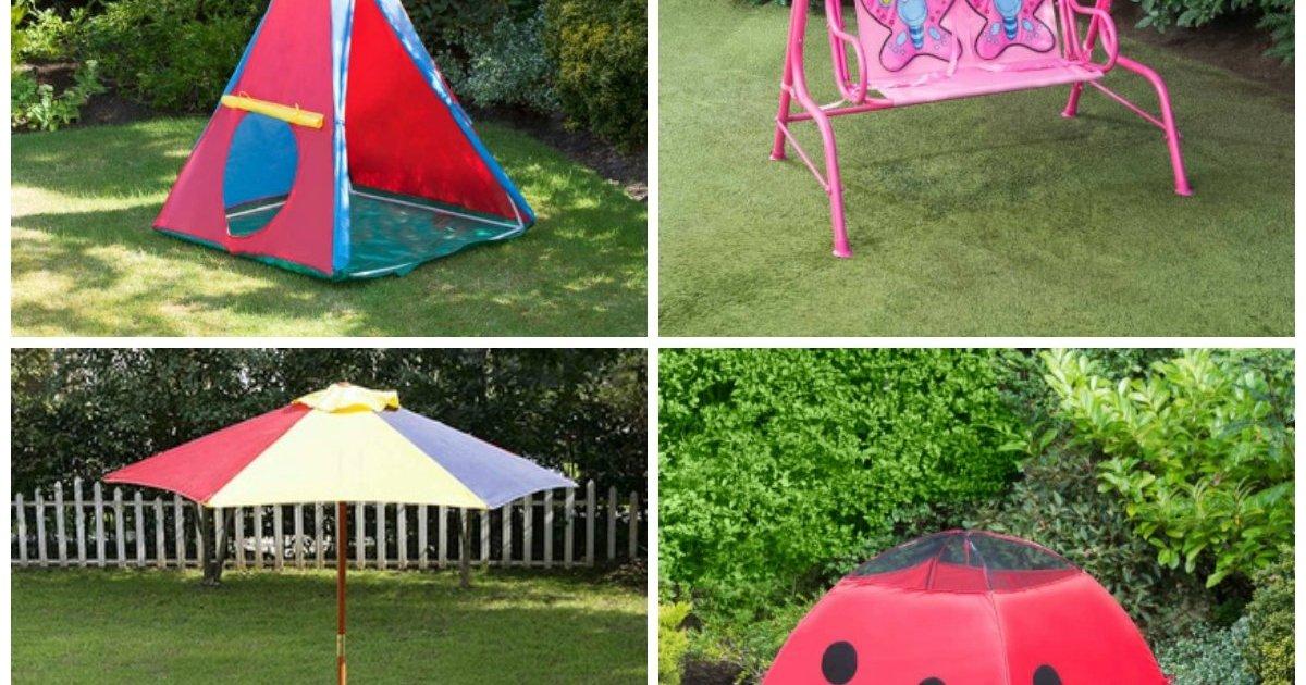 Huge savings on children 39 s garden furniture toys b m for Childrens outdoor furniture