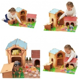 Chad Valley Wooden 50 Piece Farm Set £19.99