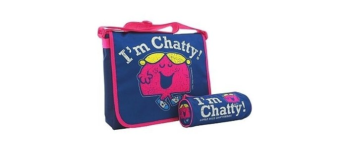 Little Miss Chatty Messenger Bag