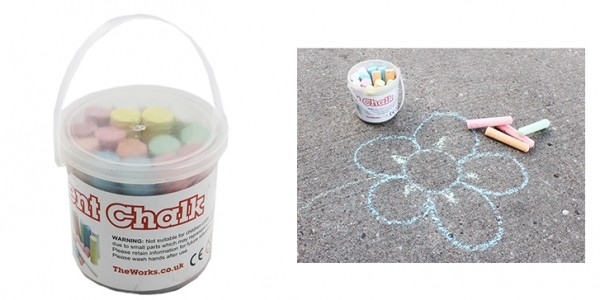 Pavement Chalk 80p (With Code) @ The Works