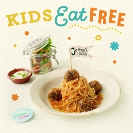 Kids Eat Free @ Jamie's Italian