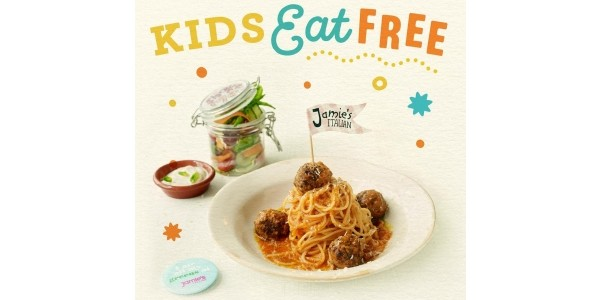 Kids Eat Free For The Whole Of August @ Jamie's Italian Restaurants