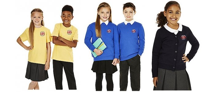 Tesco F&F School Uniform Embroidery Service