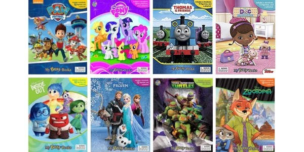 Busy Books With Playmat & 12 Figures £5 With FREE Delivery @ Tesco Direct