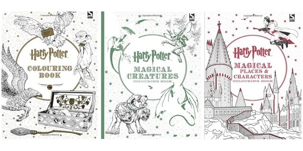 3 For £12 On Harry Potter Colouring Books @ Amazon