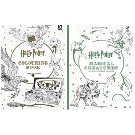 3 For £12 On Harry Potter Colouring Books