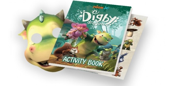 FREE Digby Dragon Activity Pack With Nick Jr Fan Club