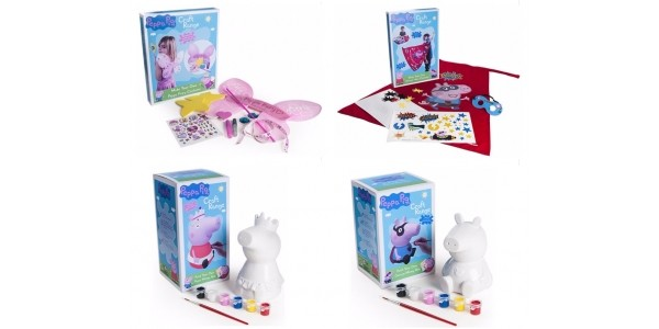 Peppa Pig Craft Sets £4.99 With Free Delivery @ Argos