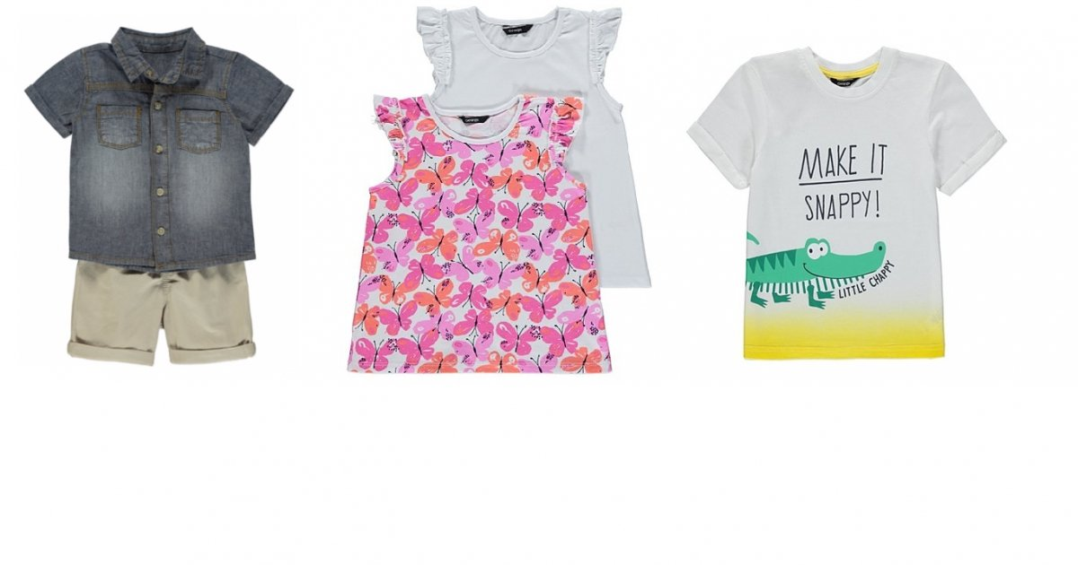 Sale Now On Children S Clothing From 163 1 Asda George