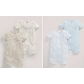 Mamas & Papas Rompers Two Packs £5