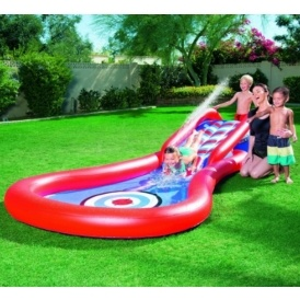 Splash & Play Cannon Ball Water Slide