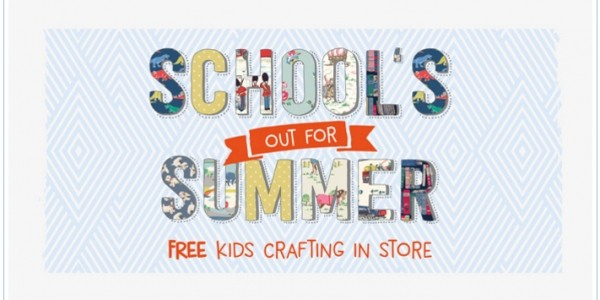 FREE Kids Craft Sessions Throughout The Summer @ Cath Kidston