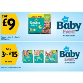 Morrisons Baby Event Now On