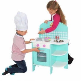 Chad Valley Curved Wooden Toy Kitchen £19.99