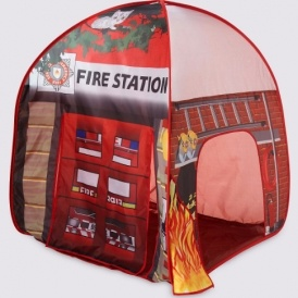 Pop Up Fire Station Play Tent £10