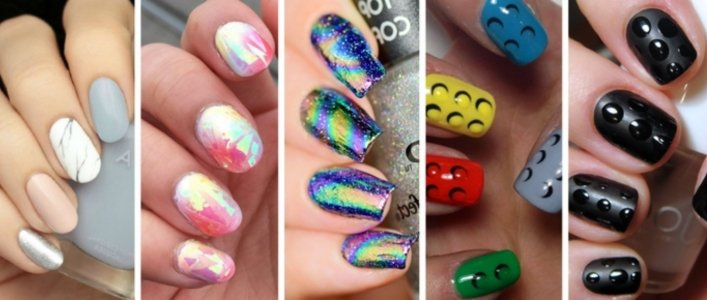 The Coolest Nail Art Trends