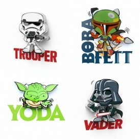 Star Wars Minis 3D Light £5.20 Delivered