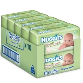 Huggies Natural Care Baby Wipes 59p Del