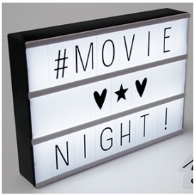 Cinema LED Lightbox £7.99