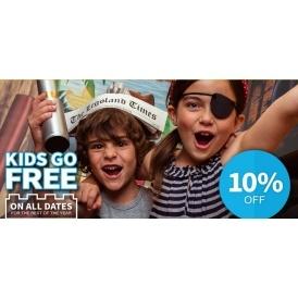 10% Off & Kids Go FREE @ Legoland