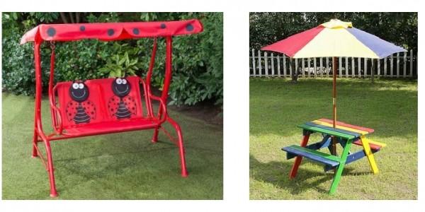 Final Reductions On Children's Garden Furniture/Tools @ B&M
