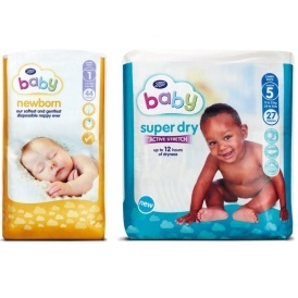 FREE Boots Baby Nappies