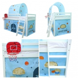 Midsleeper Bed With Tent £99.90