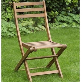 Wooden Folding Garden Bistro Chair £10