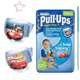 FREE Huggies Pull Ups Carry Pack