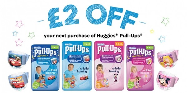 FREE Huggies Pull Ups Carry Pack (With Voucher)