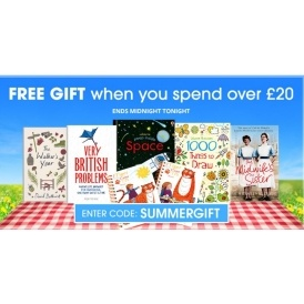 FREE Gift WYS £20 @ The Book People