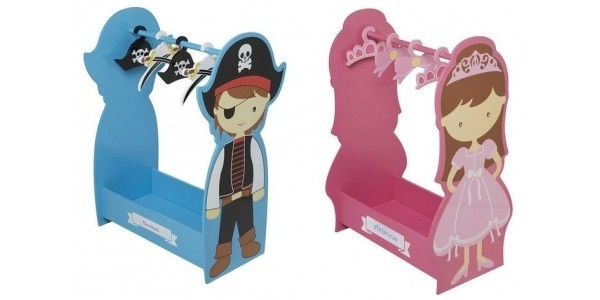Personalised Pirate Dressing Up Rail & Princess Rail Now £39.99 Each @ Studio
