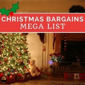 Mega List Of Christmas Bargains