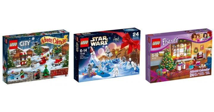 2016 Lego Advent Calendars Out Now